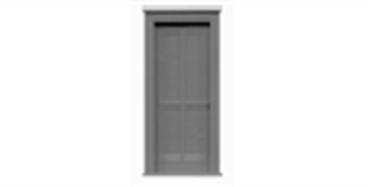 """4 Panel Door 30""""x80"""" - 2513"""