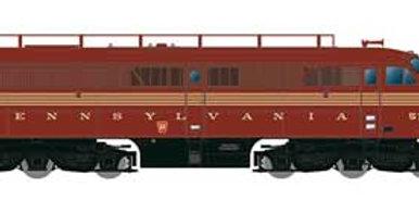 Alco PA1 - Standard DC -- Pennsylvania Railroad (5-Stripe, Tuscan, gold, T