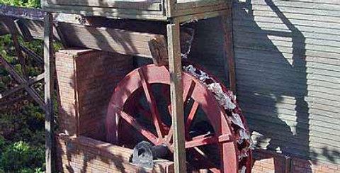 Grist Mill Water Wheel - BRA788
