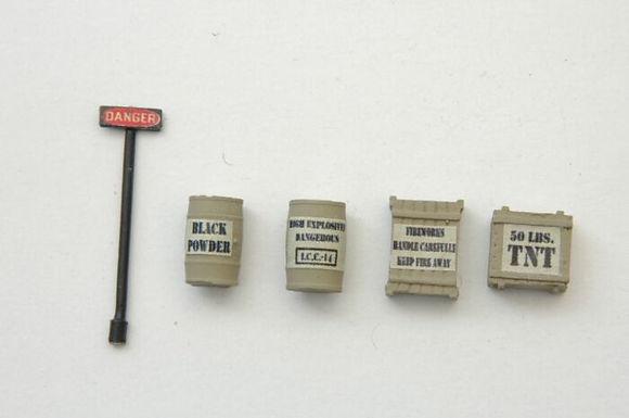 Custom Mine Explosive Set (5 Pieces) - 525