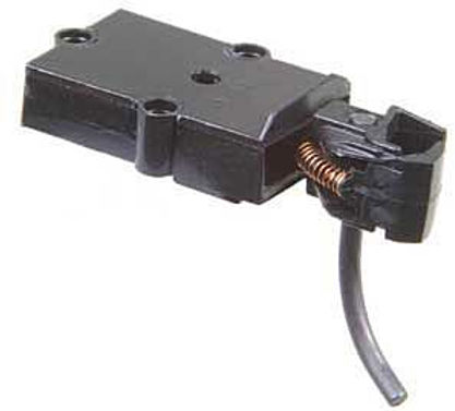 On3 Coupler w/Draft Gear Box - Black (2 Pairs) - 803