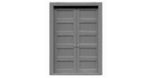 """5 Panel Double Door 54""""x80""""-8124"""