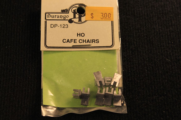 HO Cafe Chairs DP 123