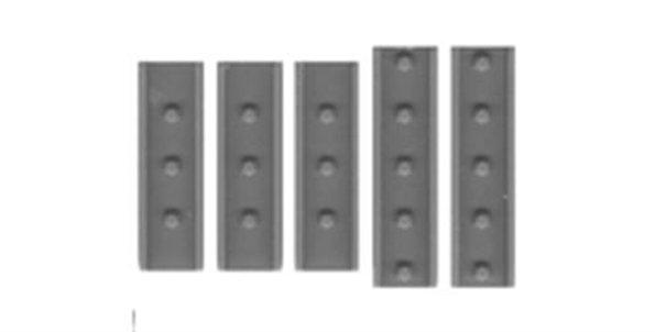 """Splice Plates 12"""" Steel Channel-2027"""