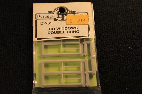 HO Windows double hung DP 61