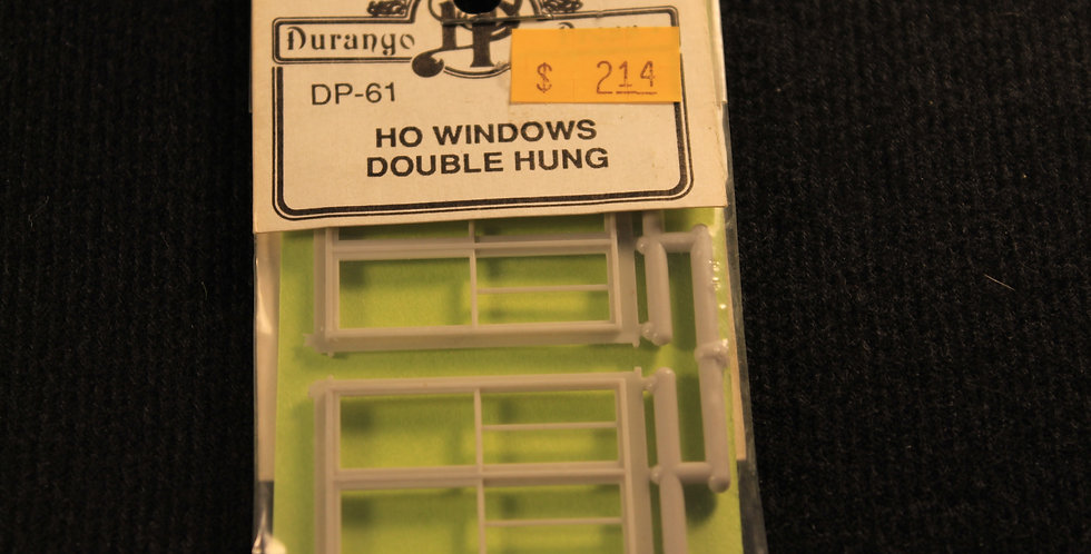HO Windows double hung DP 61