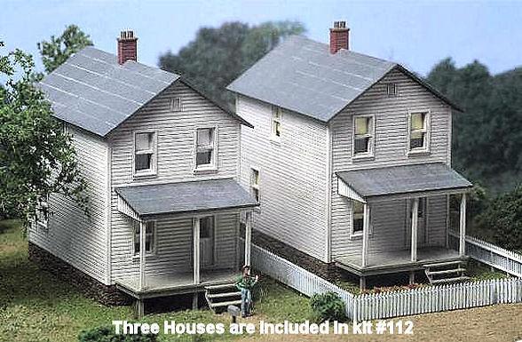 Railroad Street Company House Kit - 112