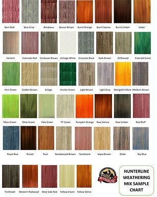 HunterLine Weathering Mix - Rust