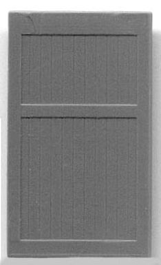 "Freight/Warehouse Door (no frame)  .575""x.99"" - 5274"