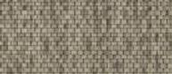 HO Laser-cut Weathered Sand Slate Shingle -HOSHG10B1