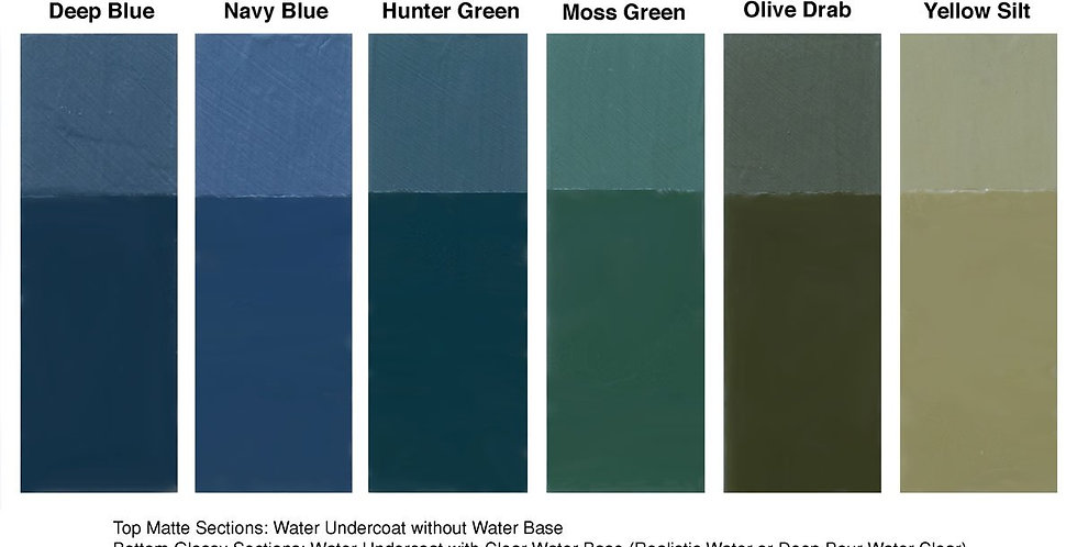 Water Undercoat Olive Drab 3.75 fl. oz. - CW4534