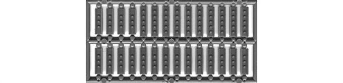 """Splice Plates 12"""" Steel Channel-8186"""