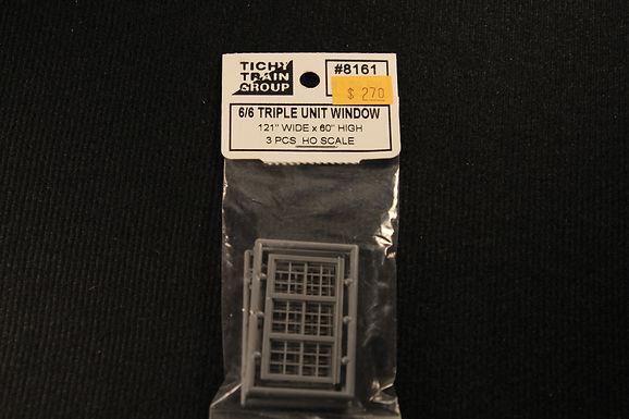 "6/6 Triple Unit Window 121""x60""-8161"
