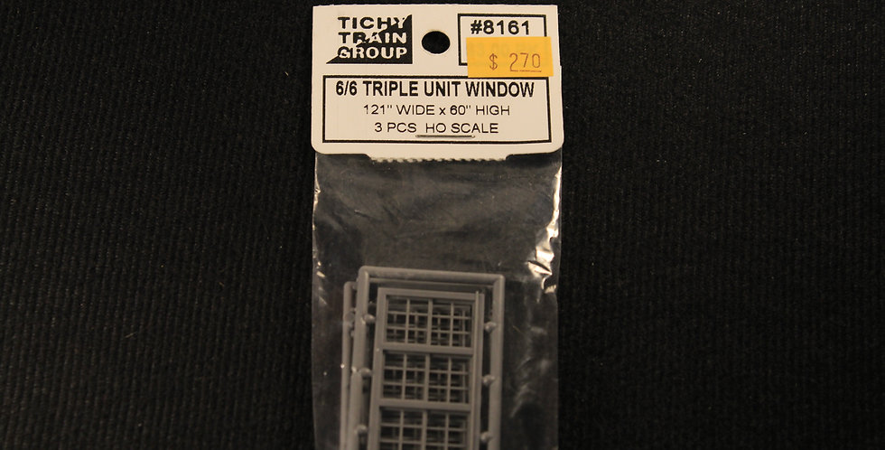 "6/6 Triple Unit Window 121""x60""-8161"