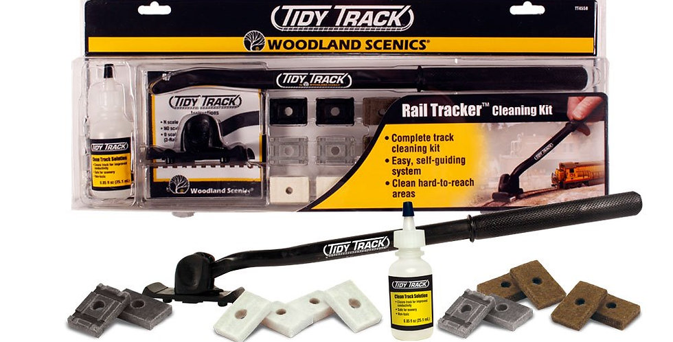 Rail Tracker Cleaning Kit-4550