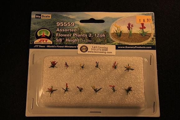 "Assorted Flower Plants 5/8"" High - 95559"