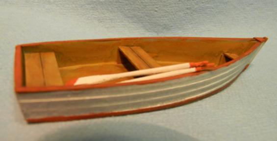 """Row Boat #1 4-1/8"""" L x 1-1/2"""" W - 510"""