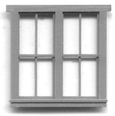 "8-Pane Double Window 63""x69"" - 5221"