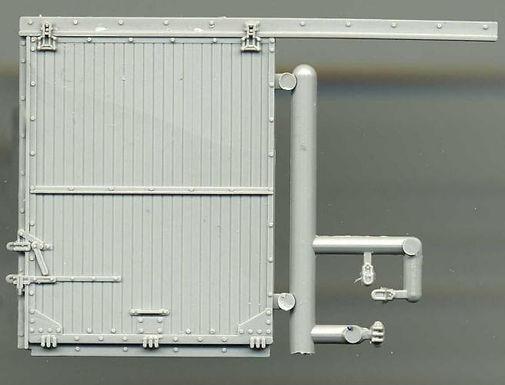 Standard Gauge Box Car Door with Camel Hardware C. 1930 - 5207