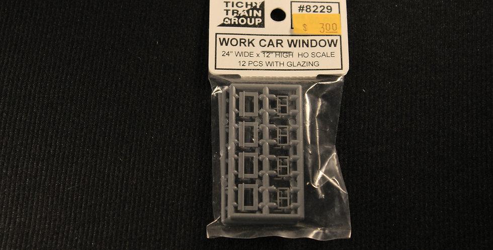 "Work Car Window 24""x12""-8229"