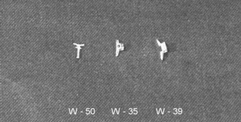 """Cleat 16"""" (6/pkg) - W-50"""