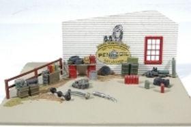 Gas Station Stacks of Stuff & Junk Detail Set-497