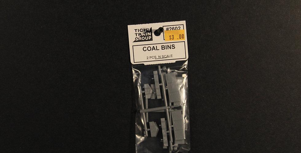 Coal Bins (2/pkg) - 2602