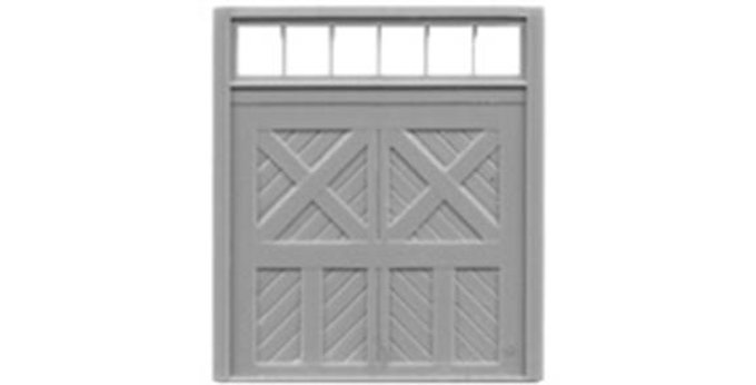"""Baggage Door 8""""x8"""" with Transom-8038"""