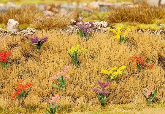 Flowers 40/pkg (Red, Yellow, Purple, Pink) - 181251