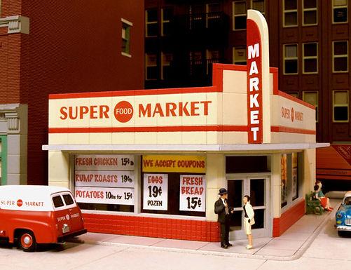 114 West End Market Kit 1940's - 114
