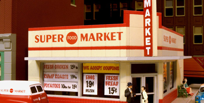 114 West End Market Kit 1940's - 114