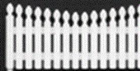 Fancy Picket Fence HO SCALE - 8283