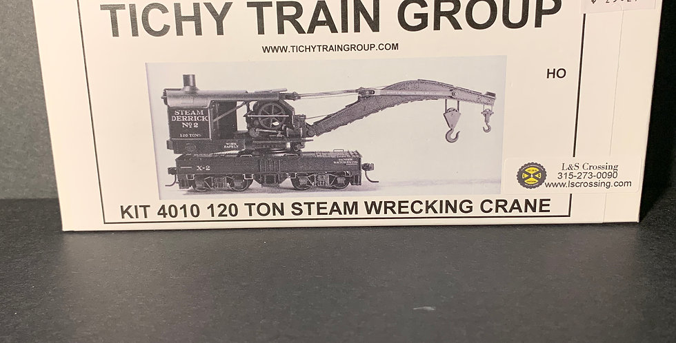 120 Ton Steam Wrecking Crane - 4010