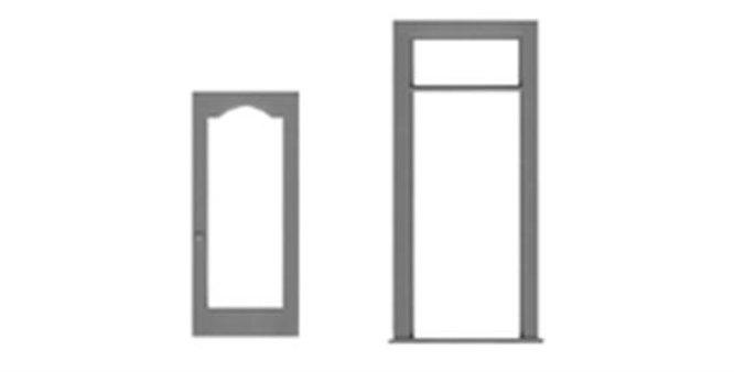 """Glass Door/Frame 36""""x106""""-8194"""