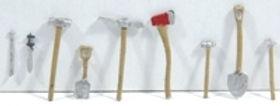 HO Assorted tools (8) DP 139