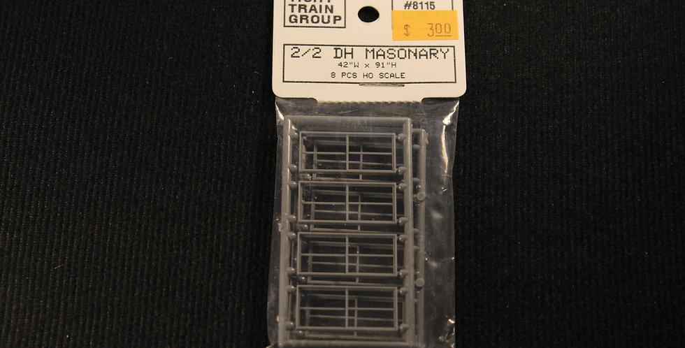 "2/2 Double Hung Masonry 42""x91""-8115"