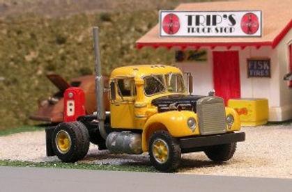 1956-66 Mack B-75  Single Axle Tractor w/L Cab (HO) - V-219