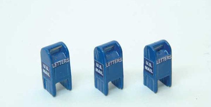 U.S. Mail Street Box Post-1955 - 711