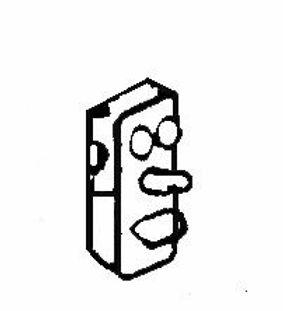 Wall Telephone (3/pkg) - EH639