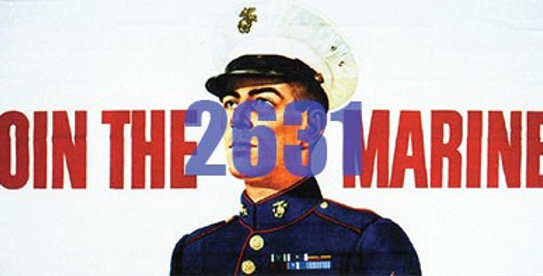 Billboard Join the Marines 1950's - 2631