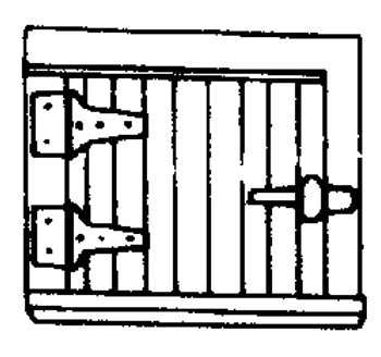 Small Hatch (4/pkg) - 4002