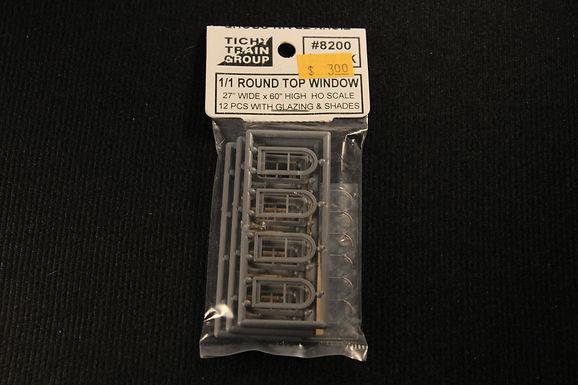 """Round Top Window 27""""x60""""-8200"""