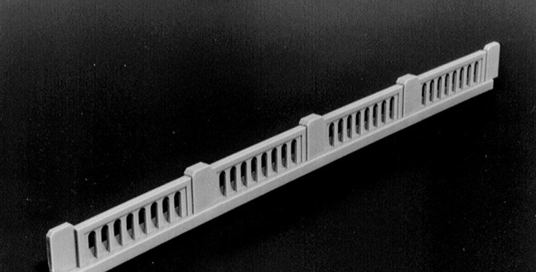 Early Highway Overpass Railings - 0104