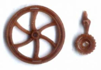C&S SP Brake Wheel 6 Spoke (4/pkg) - 88