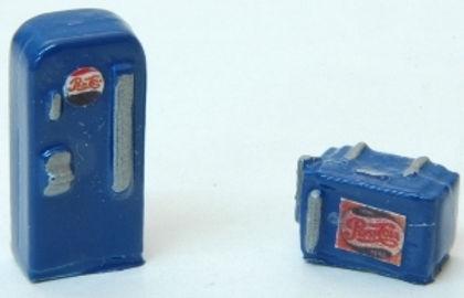 Mini Custom Soda Machine Pepsi - 636