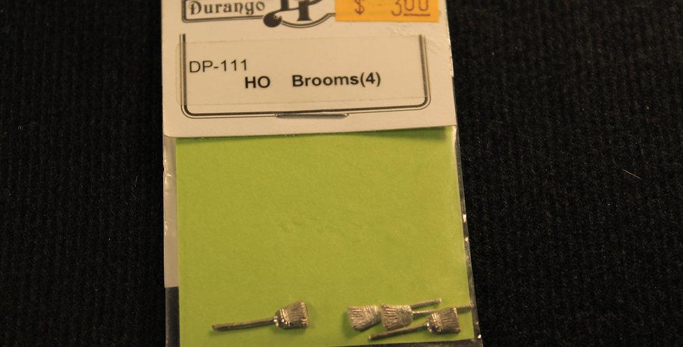 HO Brooms (4) DP 111