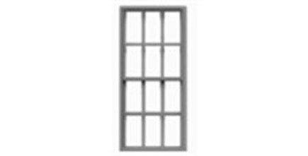 "6/6 Double Hung Masonry 35""x75""-8058"