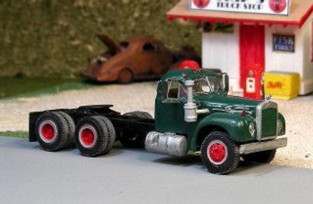 1956-66 Mack B-75  Tandem Axle Tractor w/B Cab-V-220