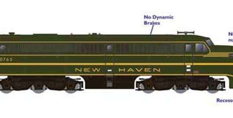 Alco PA1 - Standard DC -- New Haven (green, gold)