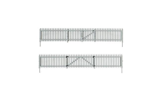 HO Picket Fence - A2984